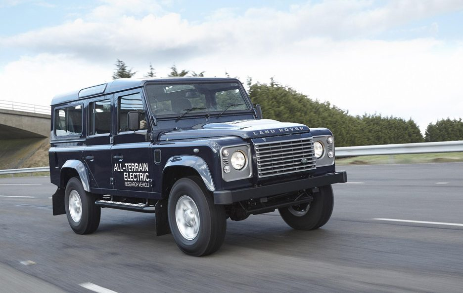 Land Rover Electric Defender my 2013