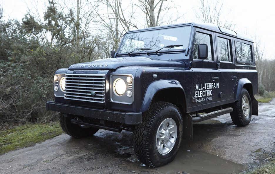 Land Rover Electric Defender my 2013 - Design