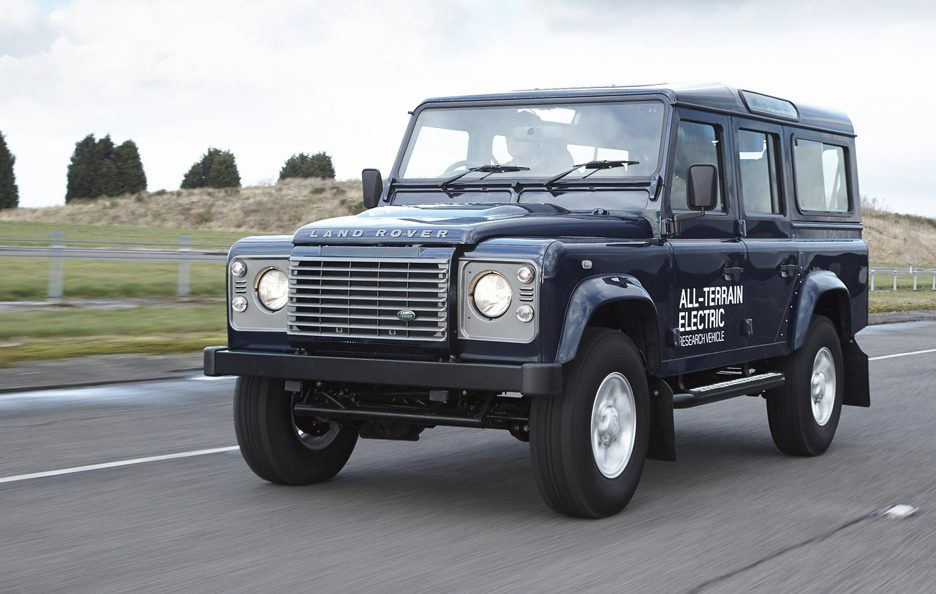 Land Rover Electric Defender my 2013 - Frontale