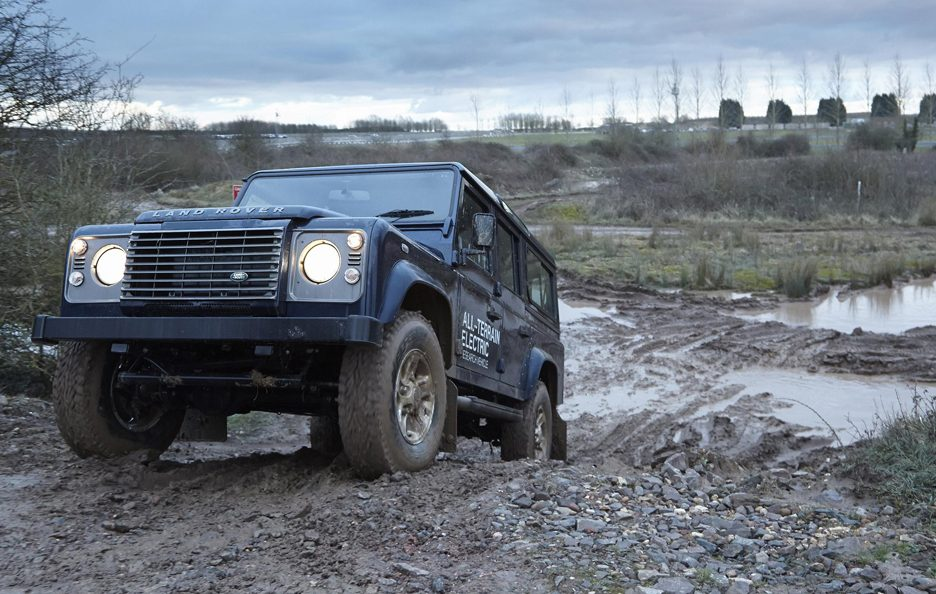Land Rover Electric Defender my 2013 - Off Road