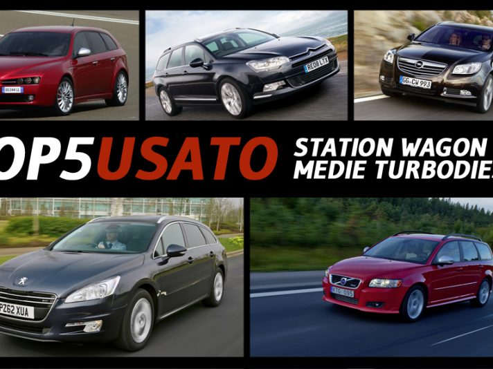 Top5 Usato: station wagon medie turbodiesel