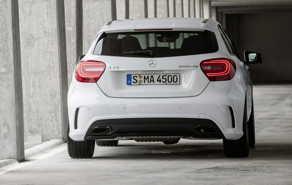 Mercedes A45 AMG - Posteriore