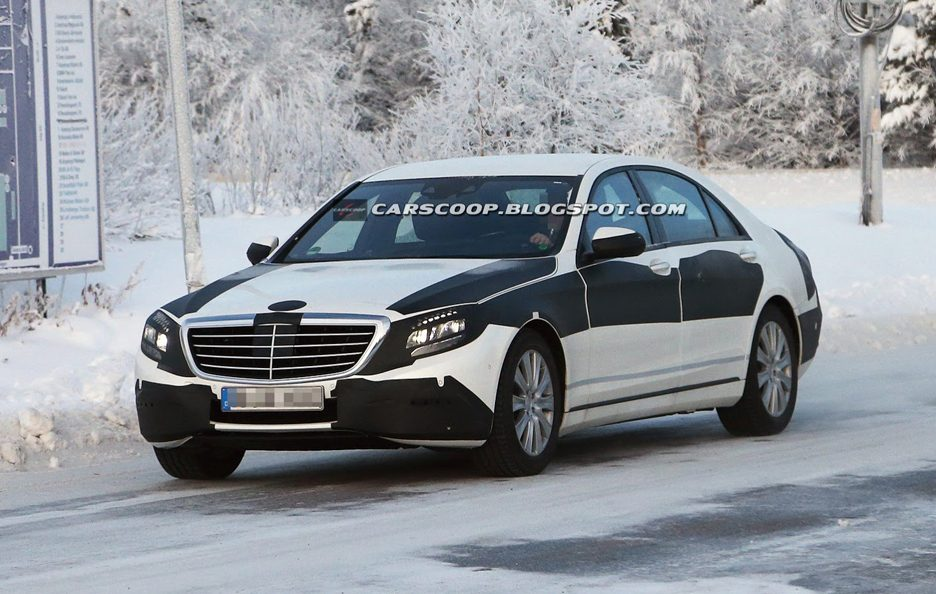 Mercedes-Benz Classe S 2014 - Frontale