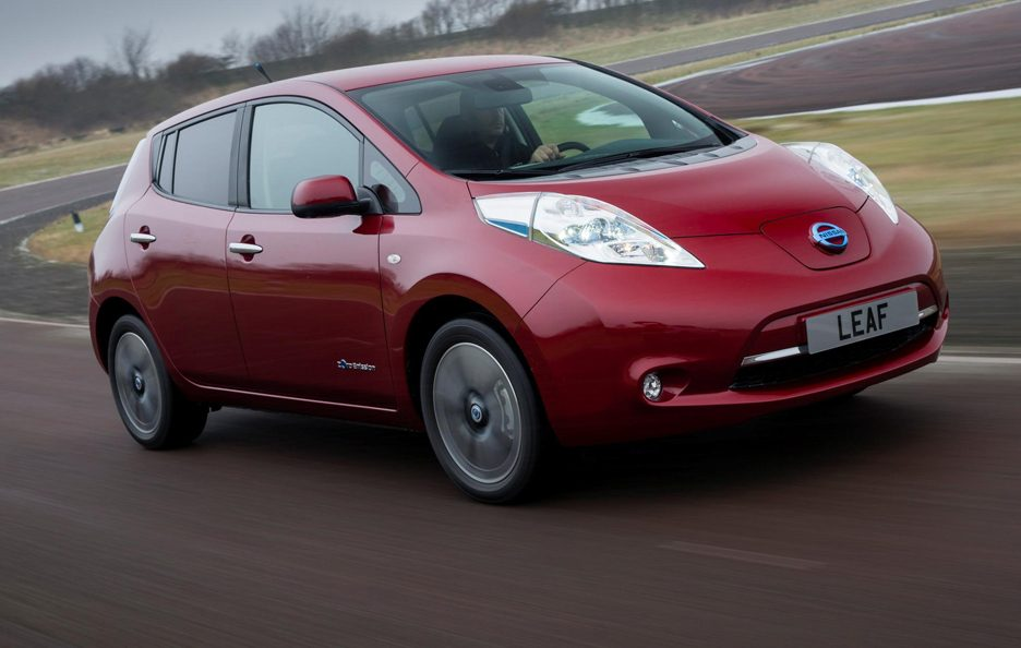 Nissan Leaf 2013 - Anteriore in motion
