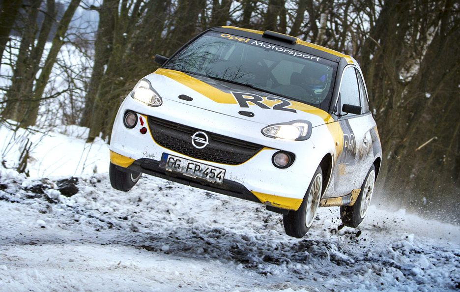 Opel Adam R2 - In motion