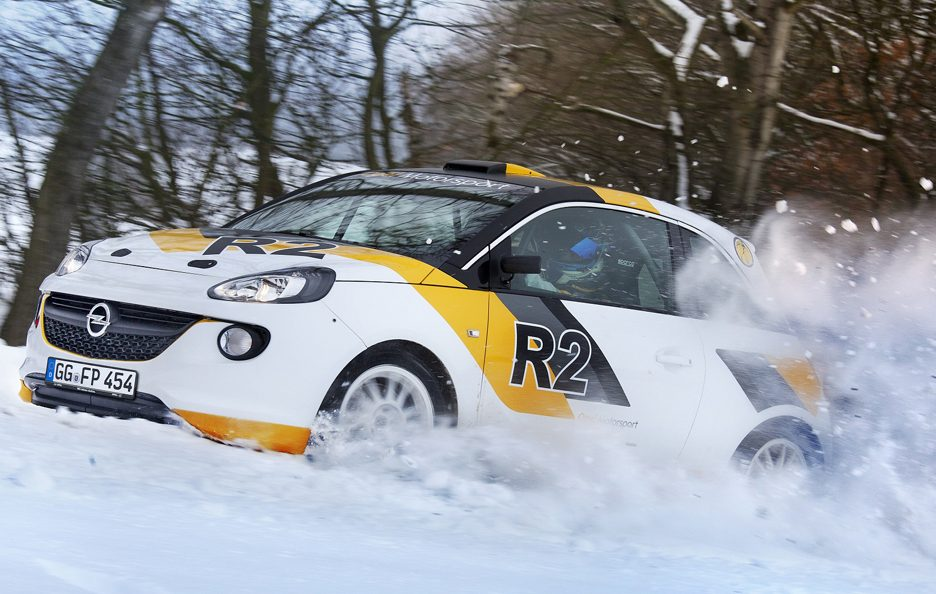 Opel Adam R2 - Laterale in motion