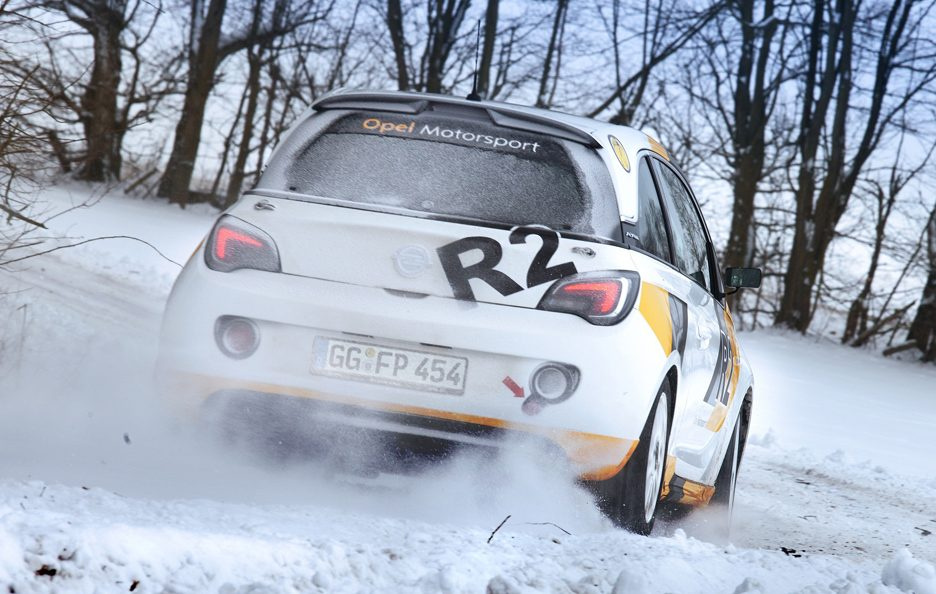 Opel Adam R2 - Posteriore in motion