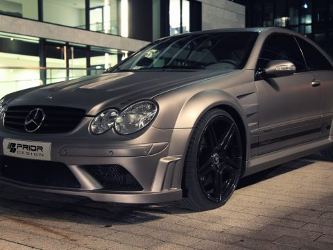 Prior Design - Mercedes CLK Black Edition - Linee