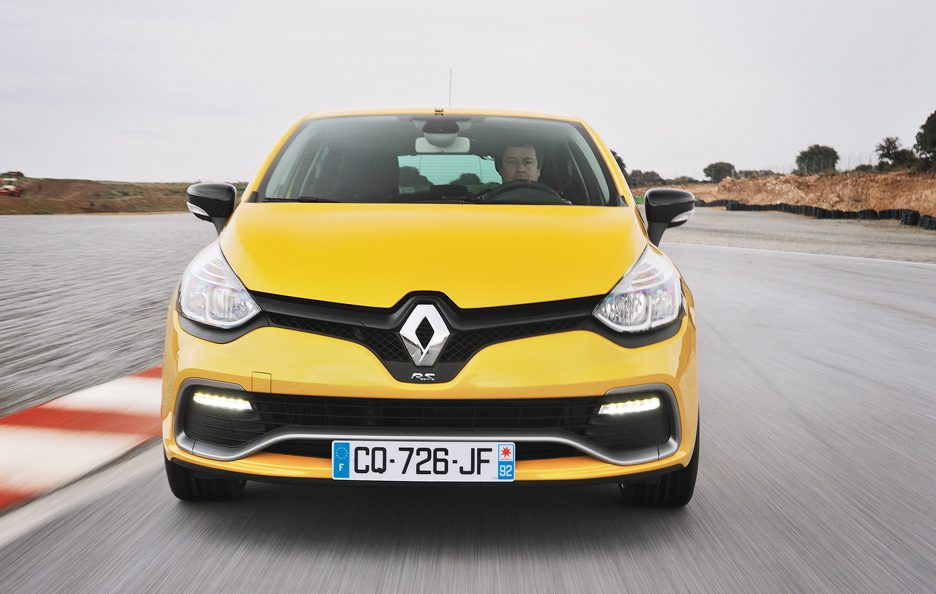 Renault Clio RS frontale