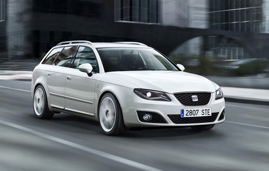 Seat Exeo ST restyling