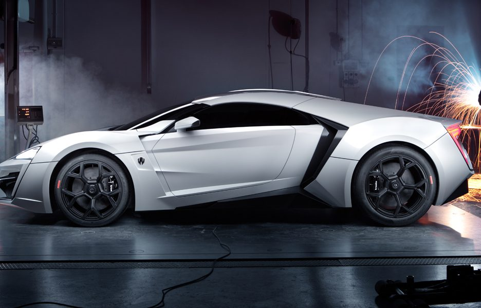 W Motors Lykan - laterale