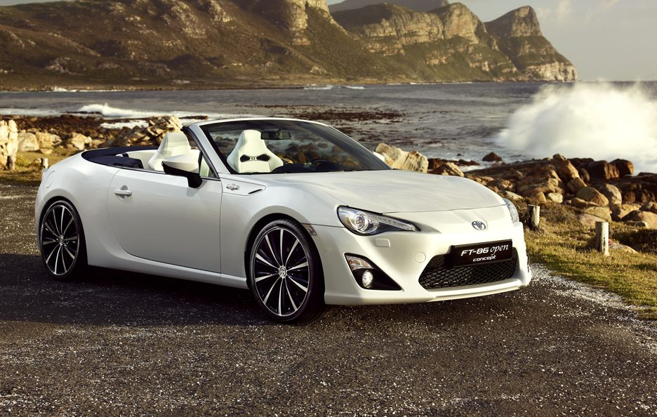 Toyota FT 86 Open Concept - Frontale
