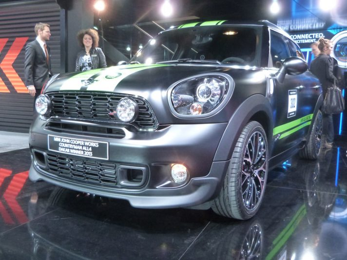Mini Countryman John Cooper Works ALL4 Dakar Winner 2013 3 - Ginevra 2013