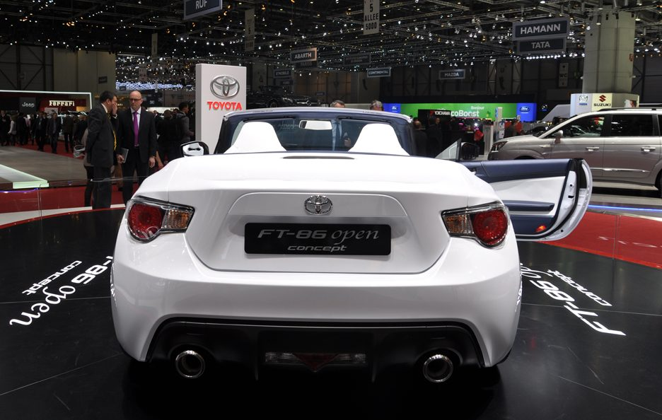 Toyota FT-86 Open Concept - Posteriore - Ginevra 2013
