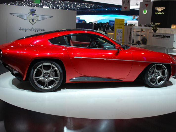 Disco Volante Touring Superleggera: a Ginevra la versione definitiva