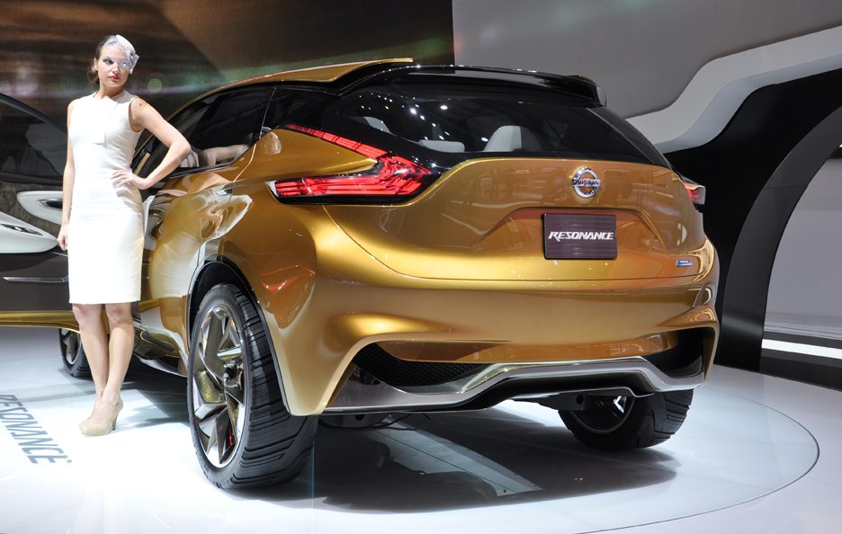 Nissan Concept Resonance - Coda - Ginevra 2013