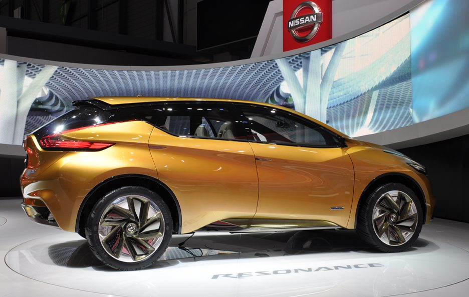 Nissan Concept Resonance - Design - Ginevra 2013