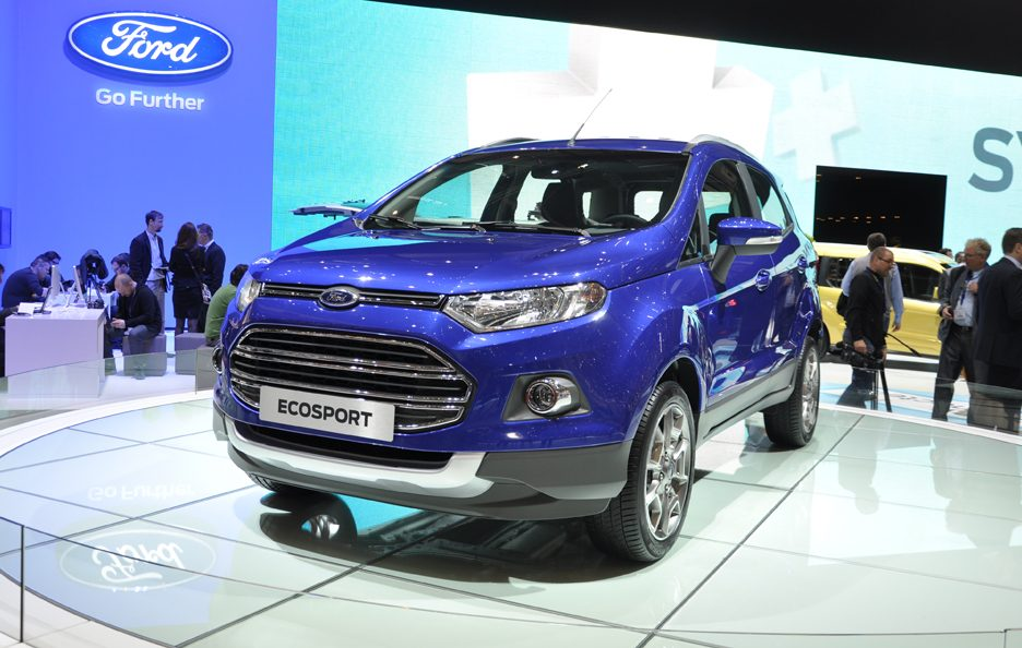 Ford EcoSport - Frontale - Ginevra 2013