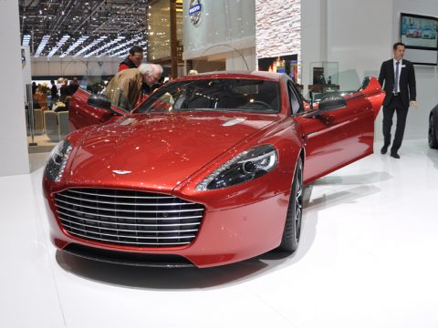 Aston Martin Rapide S - Frontale - Ginevra 2013