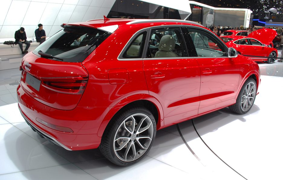 Audi RS Q3 - Retrotreno - Ginevra 2013
