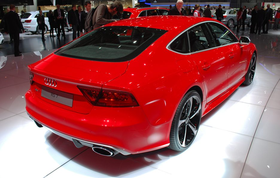 Audi RS7 - Retrotreno - Ginevra 2013