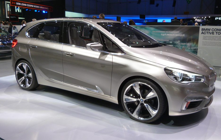 BMW Concept Active Tourer 2 - Ginevra 2013
