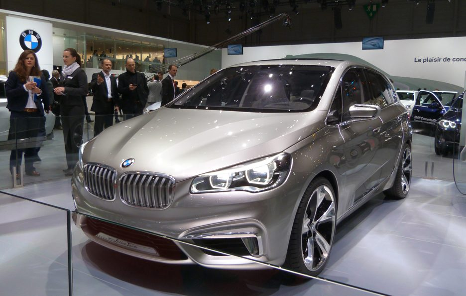 BMW Concept Active Tourer 3 - Ginevra 2013