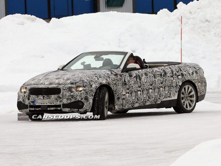 BMW Serie 4 Cabriolet - Frontale
