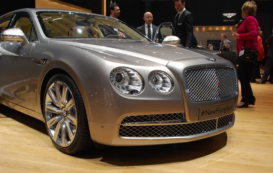 Bentley Flying Spur - Anteirore basso - Ginevra 2013