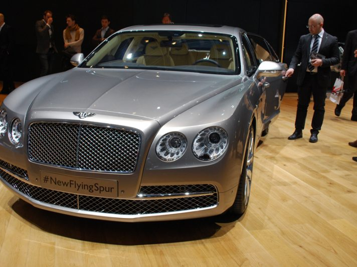 Bentley Flying Spur - Anteriore - Ginevra 2013