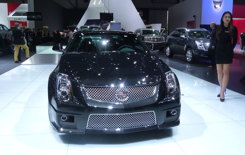 Cadillac CTS Coupé - Frontale - Ginevra 2013