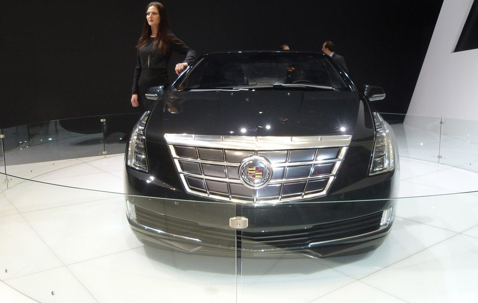 Cadillac ELR - Frontale - Ginevra 2013