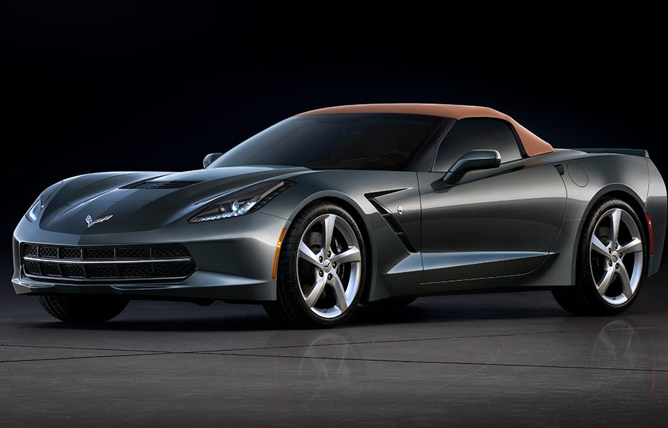 Chevrolet Corvette Stingray Convertible - Capote chiusa