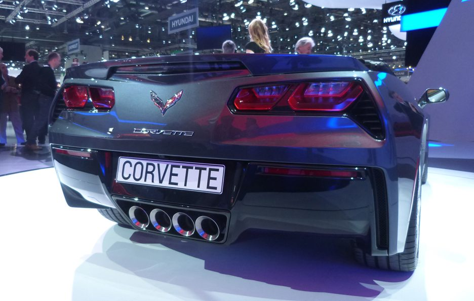 Corvette Stingray Convertible - Coda - Ginevra 2013