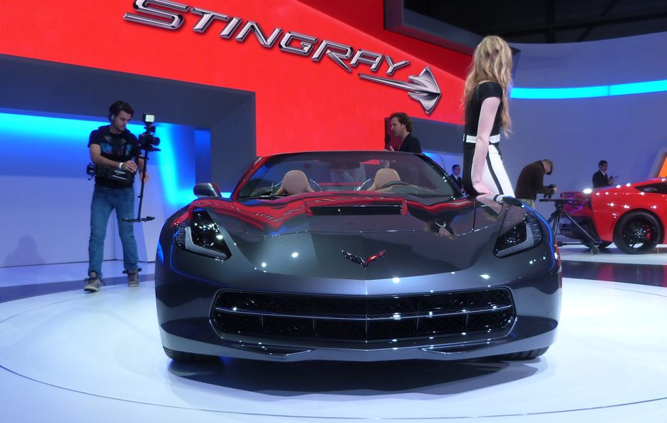 Corvette Stingray Convertible - Frontale - Ginevra 2013