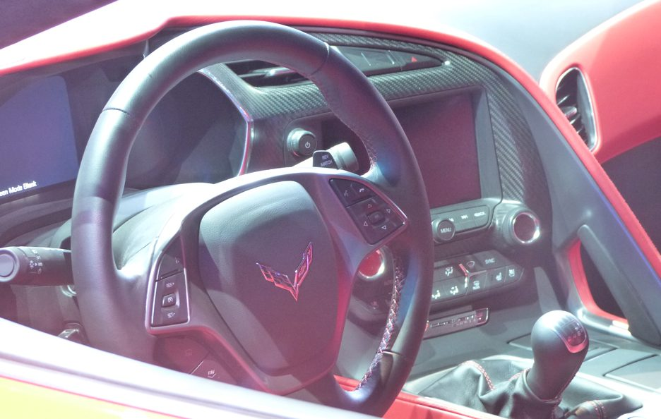 Corvette Stingray - Interni - Ginevra 2013