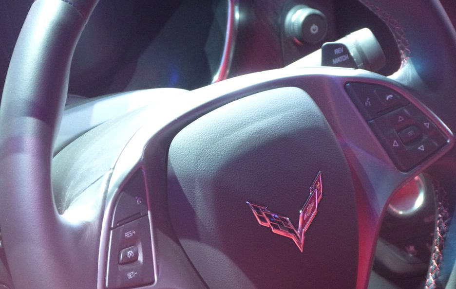 Corvette Stingray - Volante - Ginevra 2013