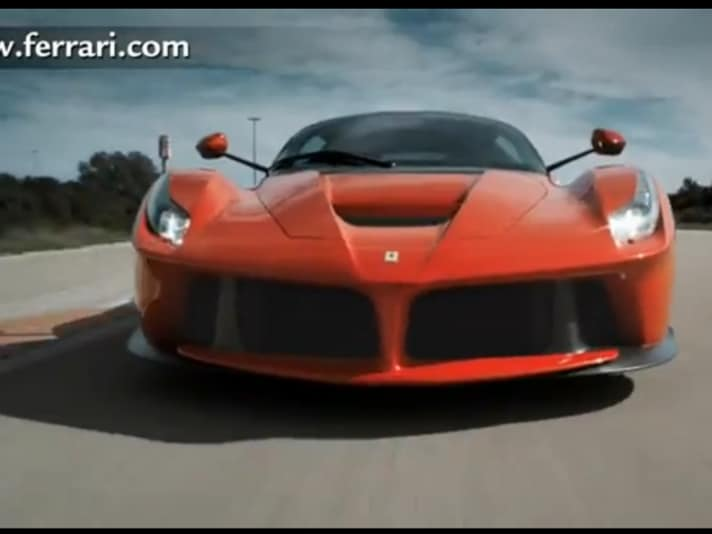 Ferrari LaFerrari: il video di lancio