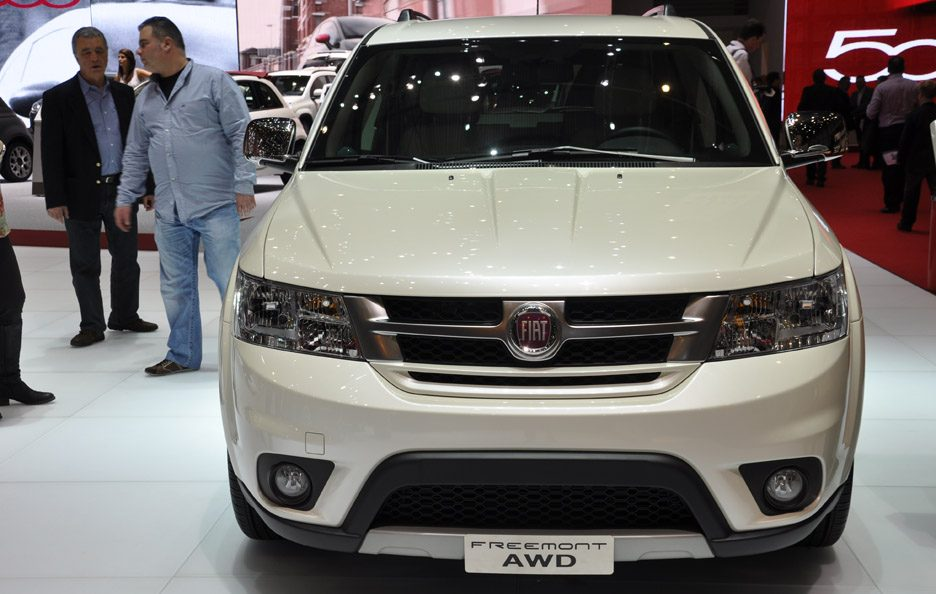 Fiat Freemont - Frontale - Ginevra 2013