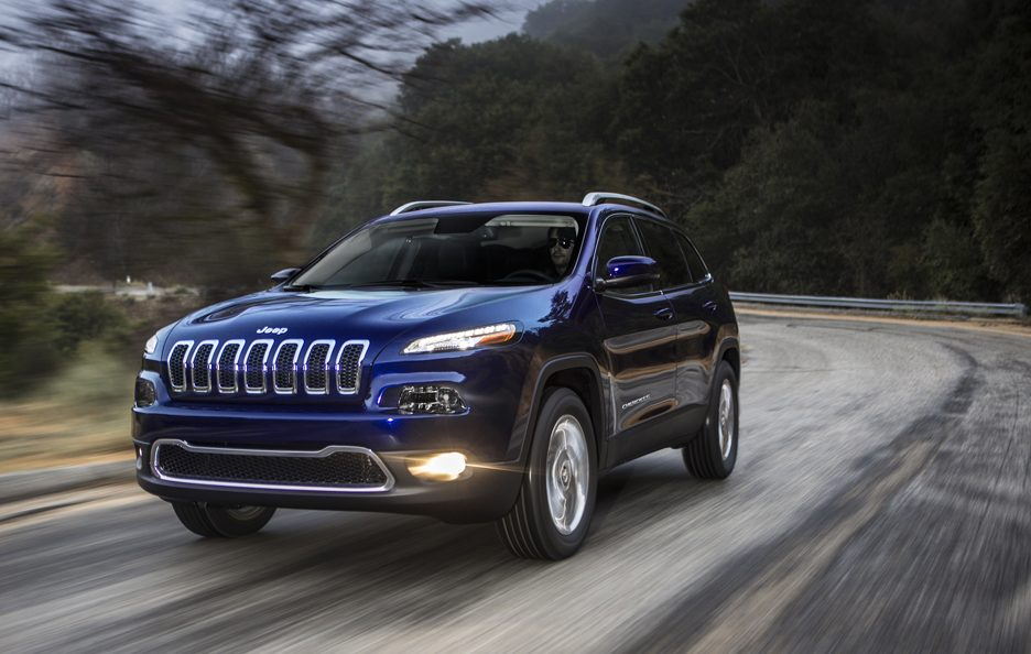 Jeep Cherokee 2014 - Frontale in motion