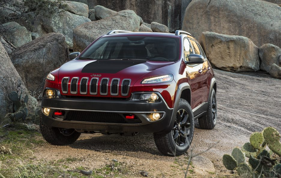 Jeep Cherokee 2014 - Il frontale