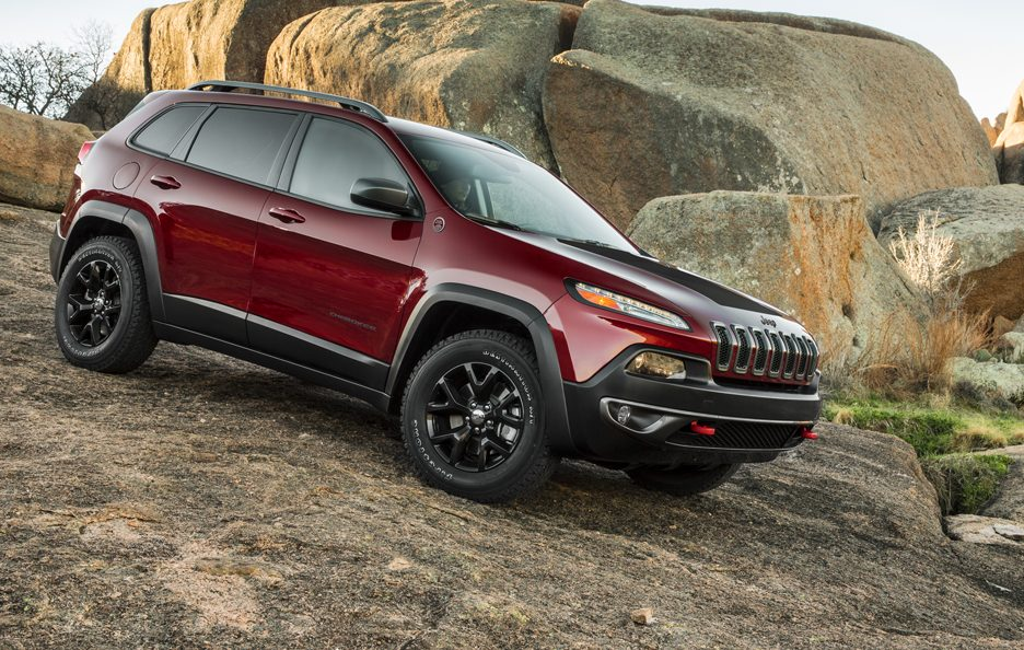 Jeep Cherokee 2014 - Il laterale