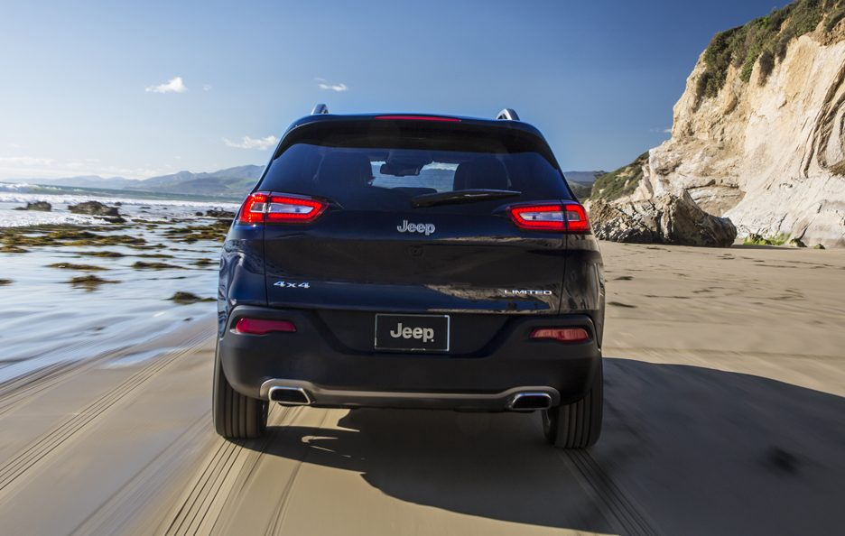 Jeep Cherokee 2014 - Posteriore in motion