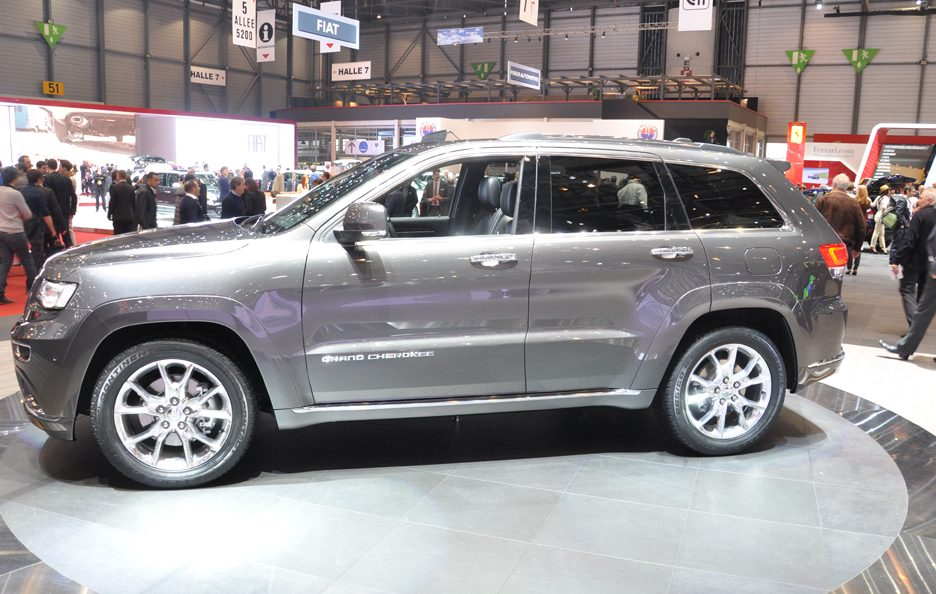 Jeep Gran Cherokee Summit - Ginevra 2013