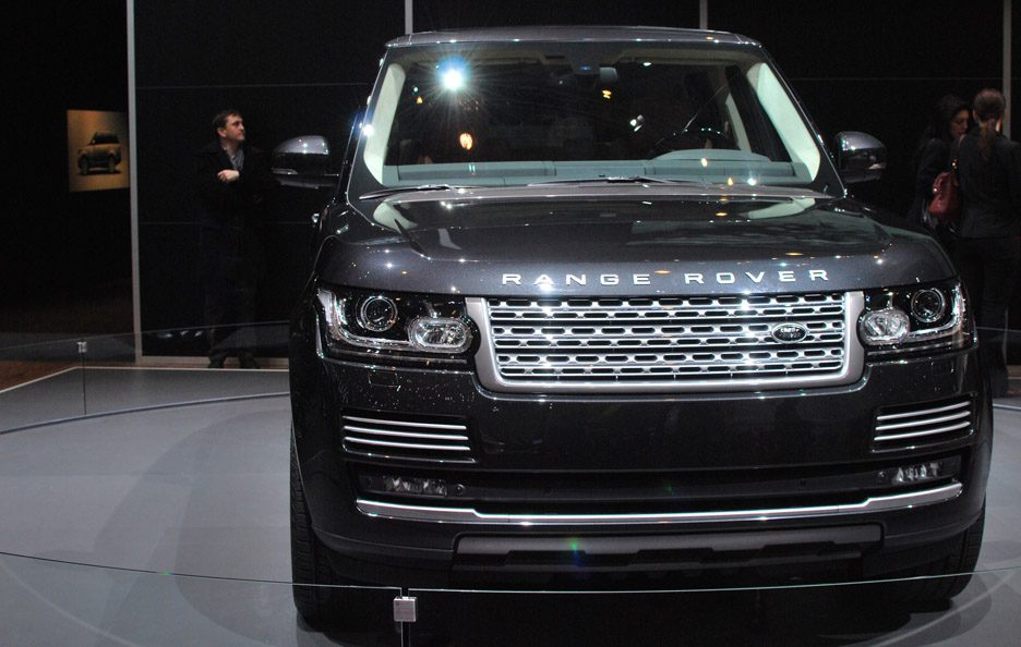 Land Rover Range Rover - Frontale - Ginevra 2013