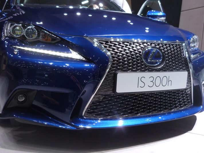 Lexus IS - Mascherina - Ginevra 2013