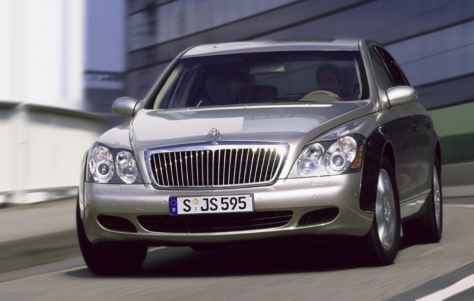 Maybach 57 frontale
