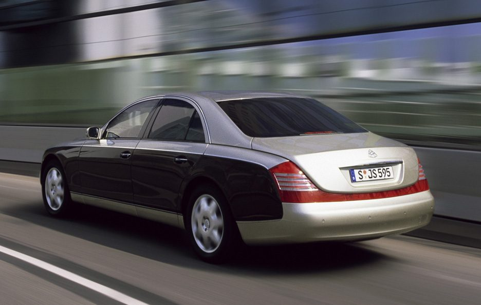 Maybach 57 tre quarti posteriore