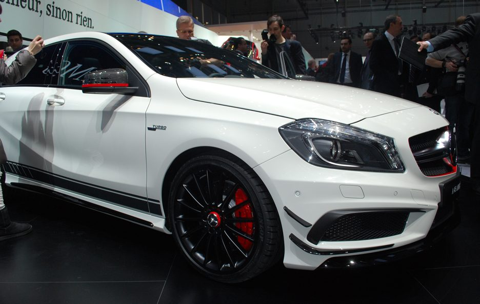 Mercedes A 45 AMG Edition 1 - Le linee - Ginevra 2013