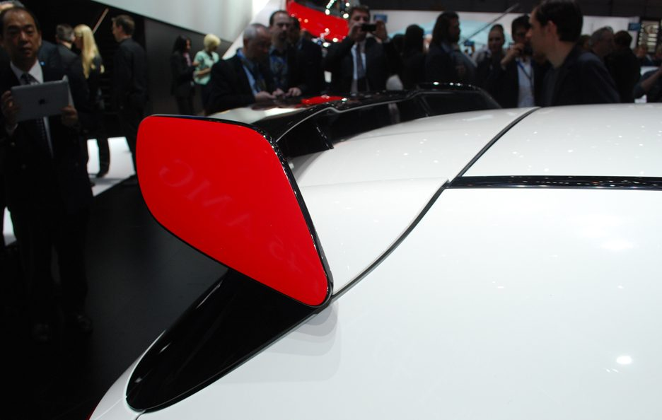 Mercedes A 45 AMG Edition 1 - Spoiler - Ginevra 2013